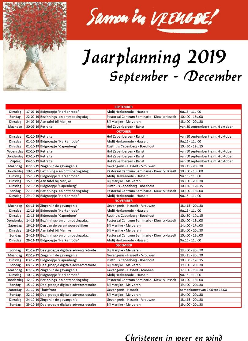 Jaarplanning 2019-2020-1
